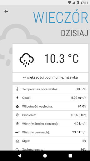 Weather ICM u2014 the best forecast for Europe 1.5.5 screenshots 4