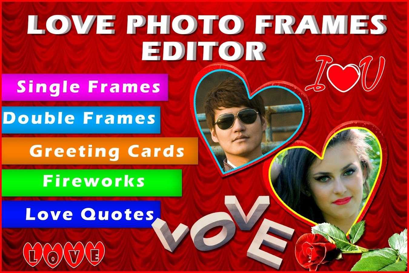 Photo Editor With Love Quotes Love Photo Frames Editor  Android Apps On Google Play