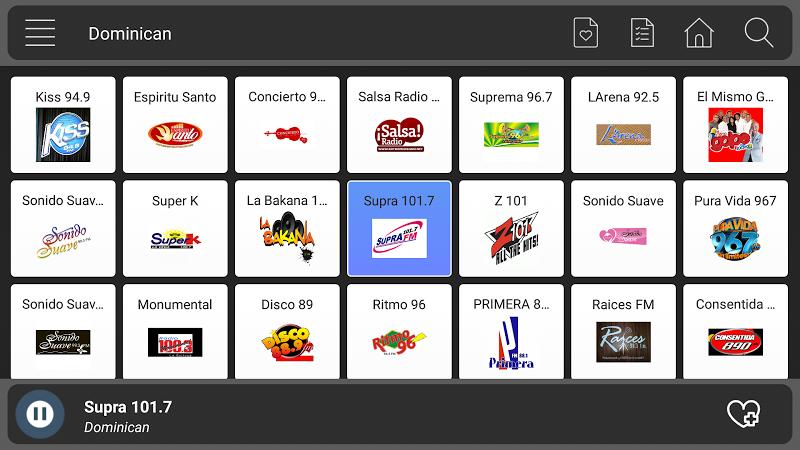 Скриншот Radio Dominican Free  - Music And News