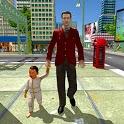 Virtual Dad Happy Family Simulator 2020 - Mom Dad icon