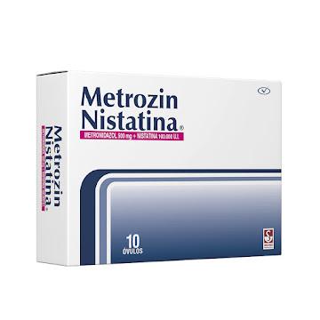 Metrozin Nistatina   500Mg/100.000UI x10Óvu. PRO Metronidazol Nistatina