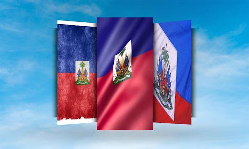 Haiti Flag Wallpaper Screenshot 1 2