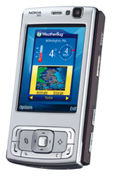 Weatherbug widget Nokia N95