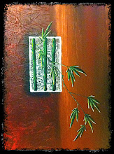 Photo: original cannabis painting for sale by jackie cooper
