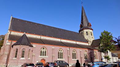 Photo: Sint-Radegundiskerk in Merendree, meer info op :  http://nl.wikipedia.org/wiki/Sint-Radegundiskerk