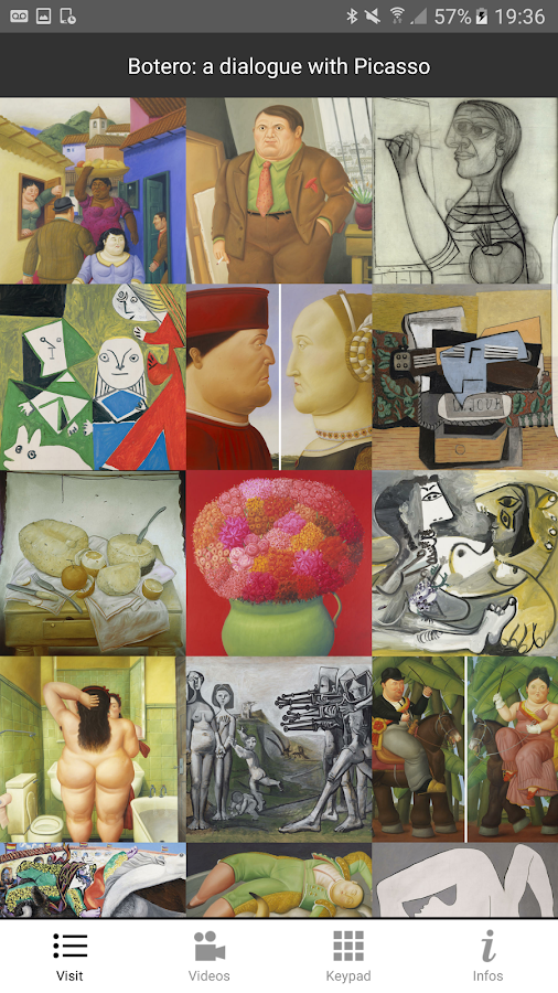 Botero:a dialogue with Picasso- screenshot