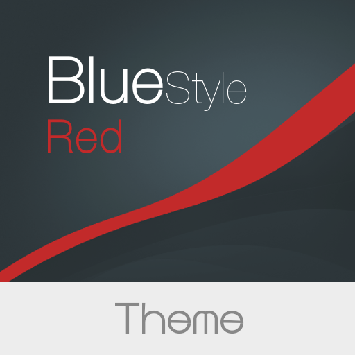 Blue Style  -  Red Theme