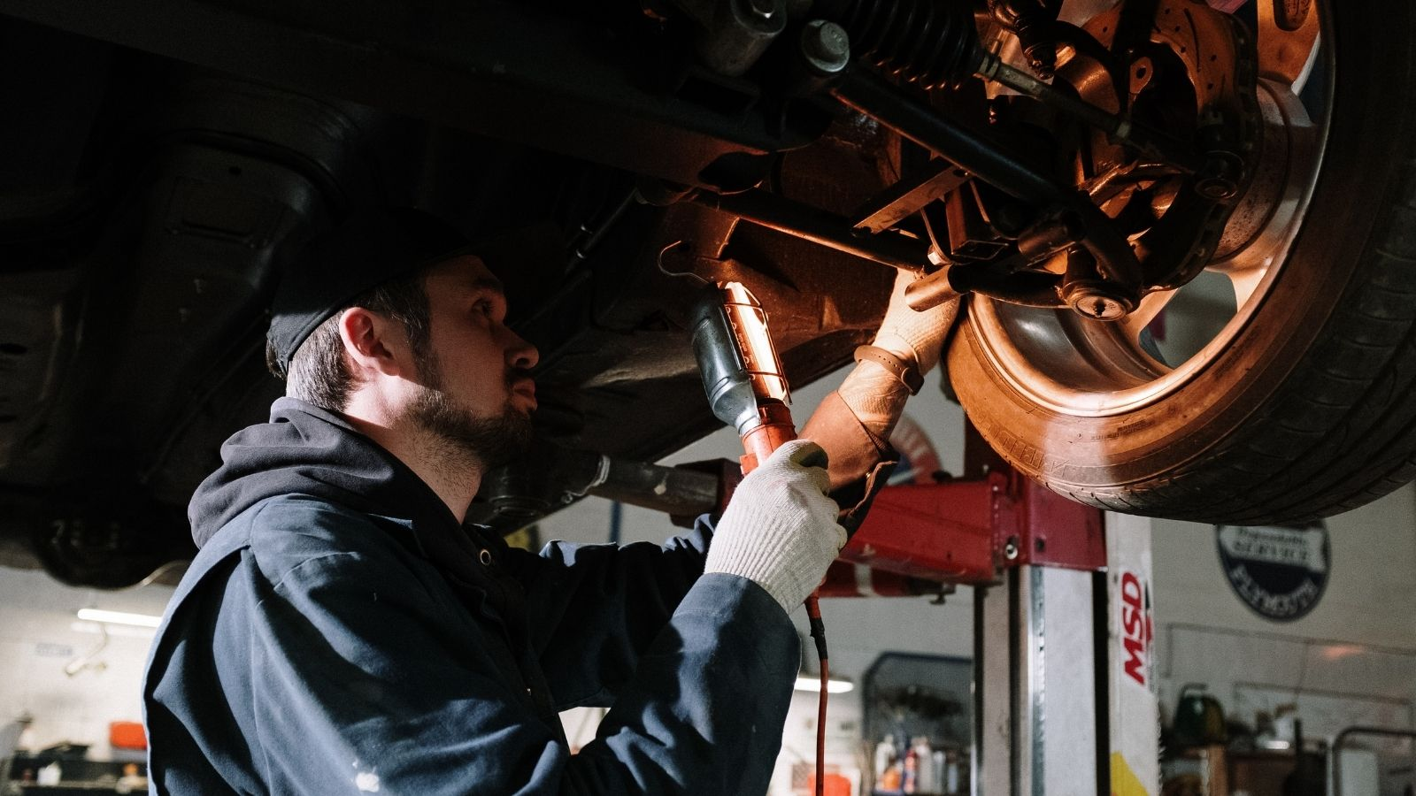Train tire shop techs to look at the wheel and thoroughly inspect it