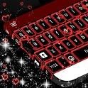 Neon Hearts Keyboard Theme icon