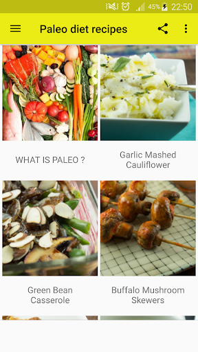 40+ Paleo Diet Recipes 1.1 screenshots 1
