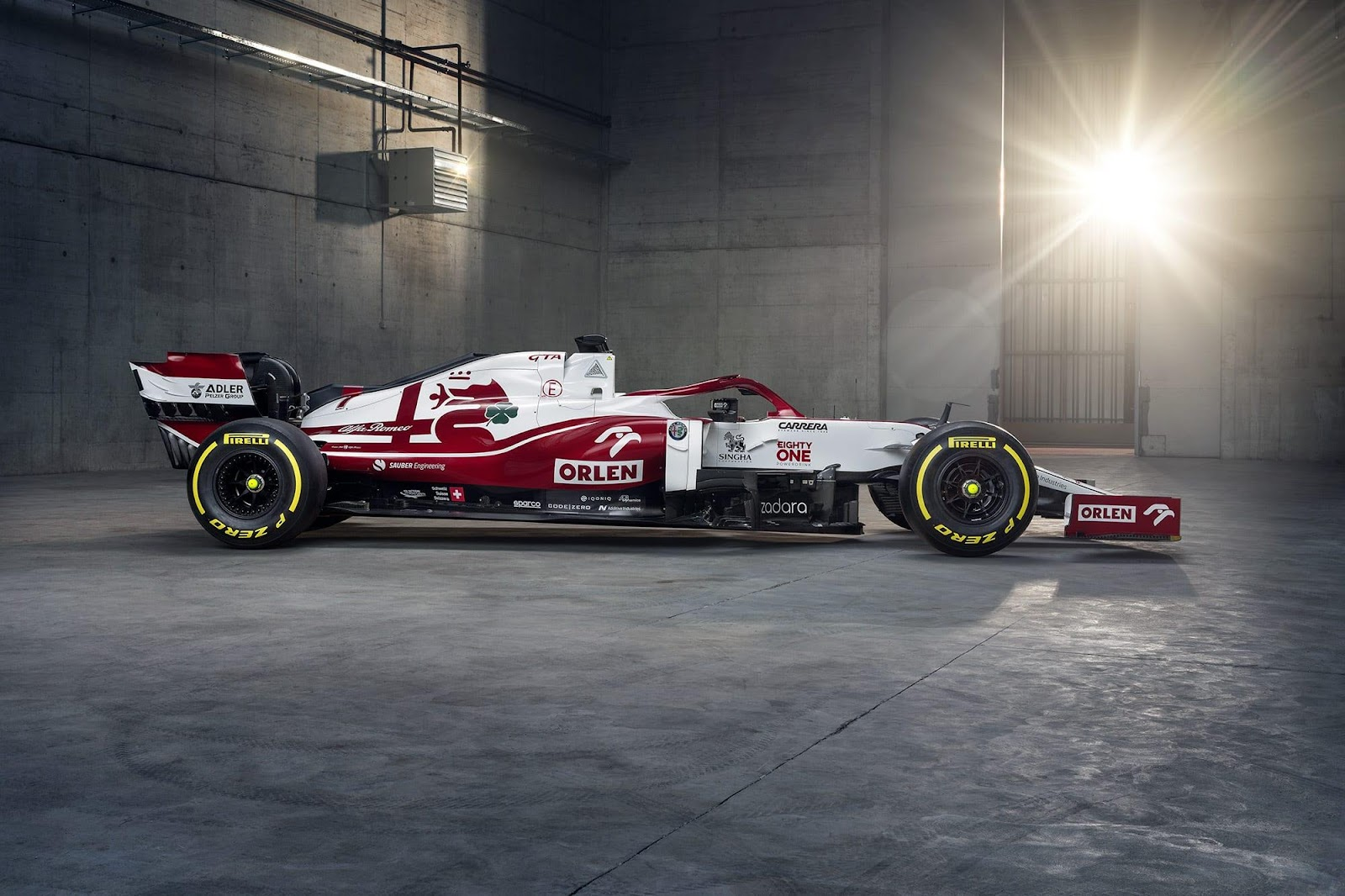 Alfa Romeo launches 2021 F1 car and revised livery - The Race