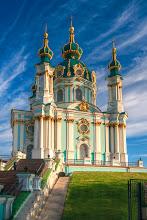 Photo: St. Andrew's Kiev ~ by Matt Shalvatis