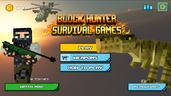 Block Hunter Survival Games - náhled