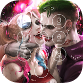 Joker and Harley Lock Screen
