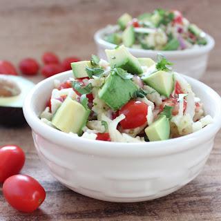 Spiralized Jicama & Avocado Salad Recipe