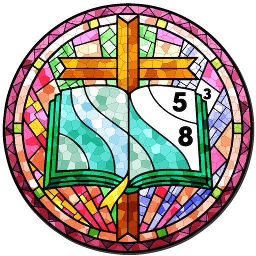 Stained Glass Color By Number Adult Paint Book Google Play De