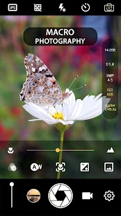Manual Camera Lite: DSLR Camera Professional Screenshot