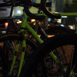 Standing by Imam Sahroni - Sports & Fitness Cycling ( gearmati, tracbike, fixedgear )
