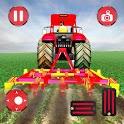 Real Farming Tractor Driving Simulator icon