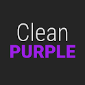 GO Contacts Clean Purple Theme icon