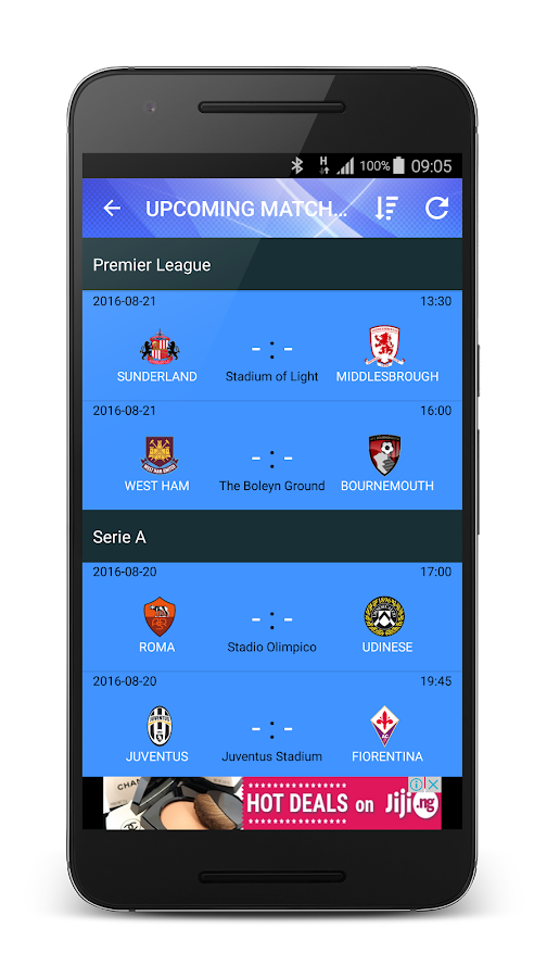 LaLiga, EPL, Champions League Live- screenshot