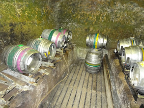 Photo: The cellar dungeon of Ye Olde Trip to Jerusalem in Nottingham