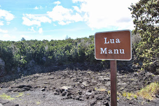 Photo: un altro vecchio cratere del Kilauea