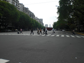 Photo: one of the many very wide streets