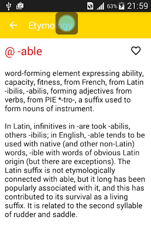 玩免費教育APP|下載英語詞源詞典 app不用錢|硬是要APP