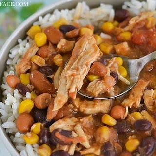 Crock Pot Tex-Mex Chicken Chili