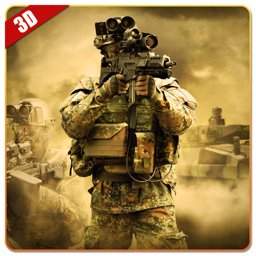 Military Commando Shooter 3D 動作 App LOGO-硬是要APP