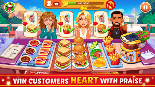 Cooking Dream: Crazy Chef Restaurant Cooking Games 2.6.92 screenshots 8