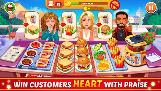 Cooking Dream: Crazy Chef Restaurant cooking games 8