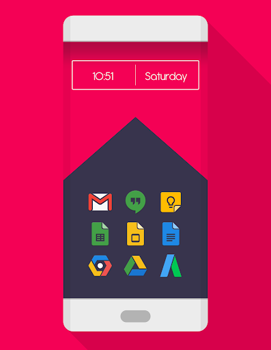 ANTIMATTER - ICON PACK app for Android screenshot