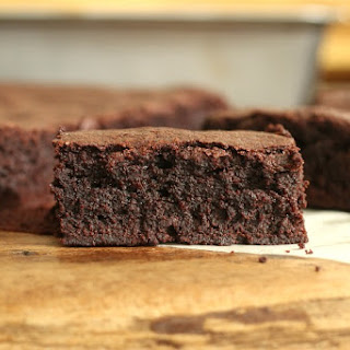 Alice Medrich's Easy Cocoa Brownies.