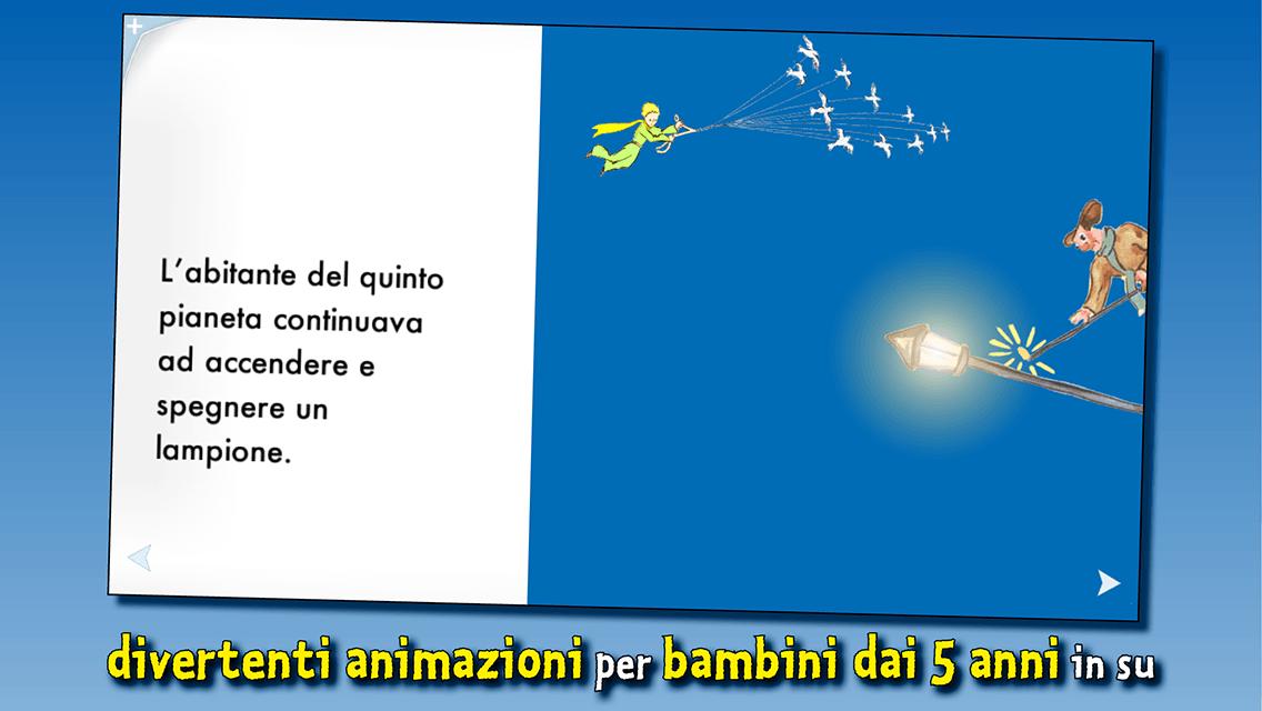 Il piccolo principe libro animato per bambini app