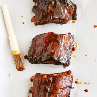 Slow Cooker Root Beer Baby Back Ribs.