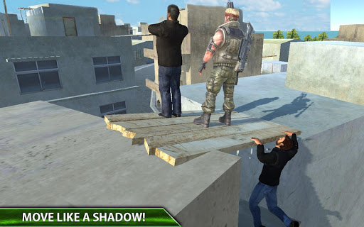 Rooftop Real Gangster Mad City game (apk) free download for Android/PC/Windows screenshot