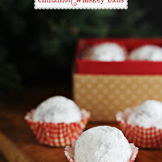 Cinnamon Whiskey Balls