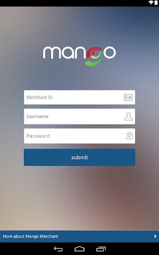 Mango Mobile Merchant Tablet