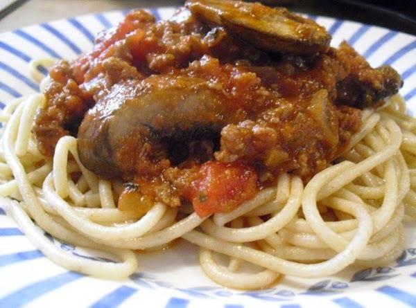 Whole Wheat Venison Spaghetti Recipe