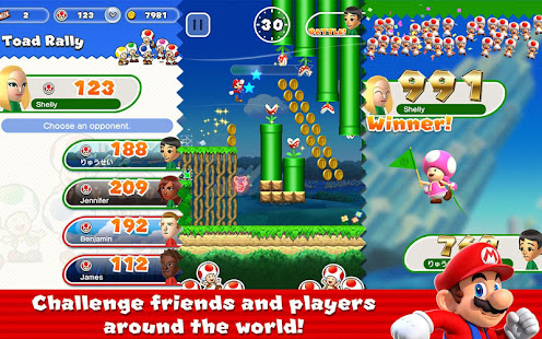 Game Super Mario Run APK for Windows Phone