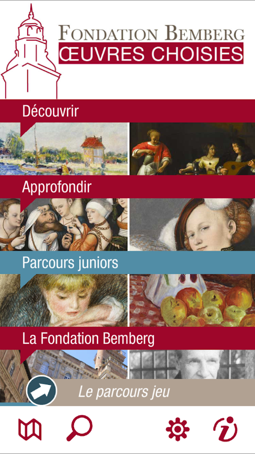 Fondation Bemberg- screenshot