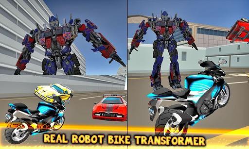 Code Triche Jeux de combat robot transformateur: jeux de robot APK MOD (Astuce) screenshots 3