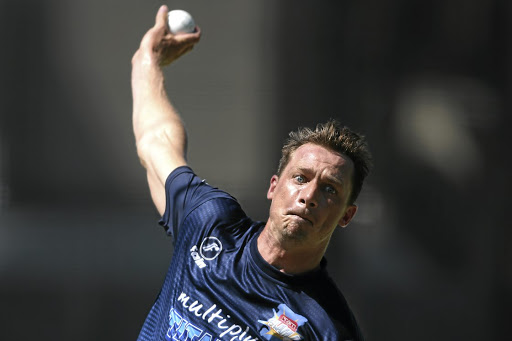 BACK FROM INJURYDale Steyn during a Titans training session at PPC Newlands on Thursday Picture: Shaun Roy/Gallo Images