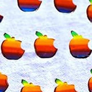 Rainbow Apple Jelly Shots.