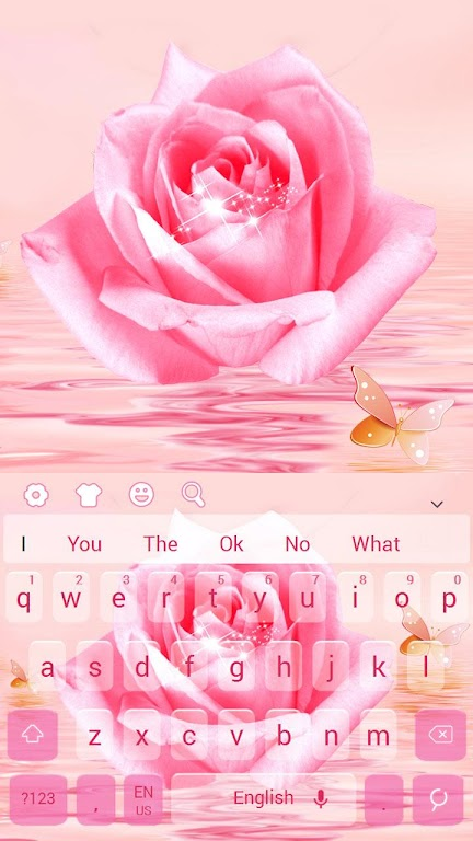 Download Pink Roses Keyboard Theme by Mumu Keyboard Design