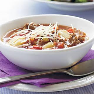 Turkey Sausage-Gnocchi Soup.