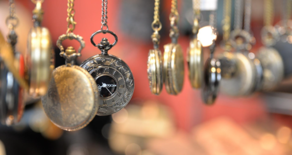 ancient pocket watch
