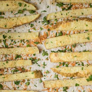 Baked Garlic Parmesan Fries.